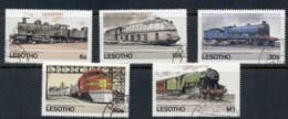 Lesotho 1984 Trains FU - Lesotho (1966-...)