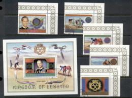 Lesotho 1981 Duke Of Edinburgh Awards + MS FU - Lesotho (1966-...)