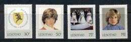 Lesotho 1982 Princess Diana 21st Birthday MUH - Lesotho (1966-...)