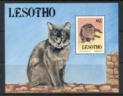 Lesotho 1993 Cats MS MUH - Lesotho (1966-...)