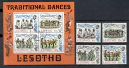 Lesotho 1975 Traditional Dances = MS FU - Lesotho (1966-...)