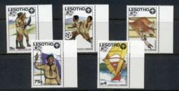Lesotho 1987 World Scout Jamboree MUH - Lesotho (1966-...)