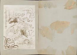611687,CDV Foto Telegraphenstation GENOVA Genua Jugendstil Miriani & 1904 - Ansichtskarten