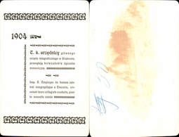 611682,Riesen AK Krakau Krakow 1904 Telegraphenstation - Polen