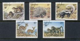 Lesotho 1977 WWF Wildlife FU - Lesotho (1966-...)
