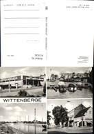 611636,Mehrbild Ak Wittenberge HO-Kaufhalle Hafen Kathaner See Bahnstraße - Deutschland