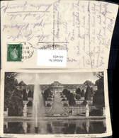 611453,Potsdam Schloss Sanssouci M. Grosse Fontaine Springbrunnen Brunnen - Deutschland