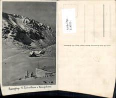 614025,Riesengebirge Krummhübel Karpacz Kl. Teich U. Baude U. Sprungschanze Winterans - Polen