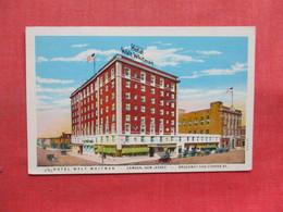 Hotel Walt Whitman    Camden  New Jersey >     Ref 3354 - Camden