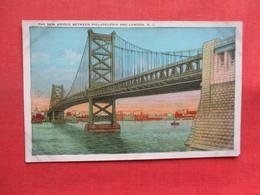 New Bridge Between Philadelphia & Camden  New Jersey >     Ref 3354 - Camden