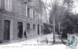 06 - Alpes Maritimes - ANTIBES - Hotel Des Postes Et Telegraphes - Antibes