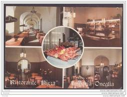 Imperia - Oneglia.- (Italie)  Ristorante NIZZA - 4/R Lg. Sabatini - Spec. Pesci - (oblitération De 1990) - Imperia