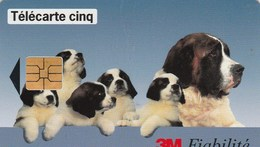 TELECARTE CINQ.....3M FIABILITE...... - France