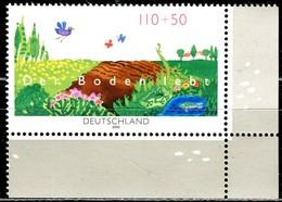 A13-25-9) BRD - Mi 2116 ECKE REU - ** Postfrisch (A) - 110+50Pf   Naturschutz, Der Boden Lebt - [7] República Federal