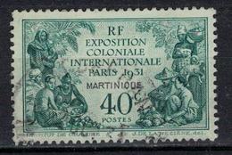 MARTINIQUE            N°  YVERT    129      OBLITERE       ( O   3/56 ) - Oblitérés