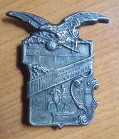 Italy, FGI Federazione Gimnastica Concorso Straordinario Di Piacenza 1908. Distintivo / Badge / Pin - Gymnastics