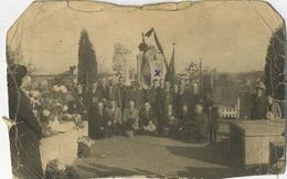 Montigny-le-Tilleul : Souvenir  :  Fete Amnestie 1938  : !!!!  état  --  Regarder Scan Pour Detail  ( Carte Photo ) - Montigny-le-Tilleul