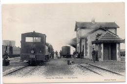 77 - JOUY-LE-CHATEL - La Gare - Saint Ouen