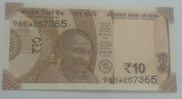 India Indein 2018 Uncirculated Replacement Note ..See Sample - India