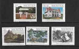 ILE MAURICE 1987 ART ET ARCHITECTURE  YVERT N°685/89 NEUF MNH** - Mauritius (1968-...)