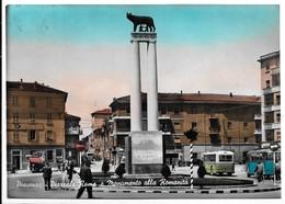 Piacenza - Piazzale Roma. Insegna Birra Italia Dal Centro Verso Destra. Corriera. - Piacenza