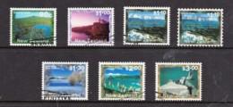 New Zealand 2000 Scenic Definitives Set Of 6 + 1 Used - New Zealand