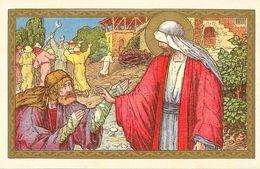 La Bible Illustrée: Les Evangiles - De Tien Melaatschen (Jésus Et Les Dix Lépreux) - Christianisme