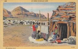At Home In Navajo Land USA - Indiens De L'Amerique Du Nord