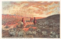 79006 Navahos Moving Camp Arizona On The Santa Fe - Indiens De L'Amerique Du Nord