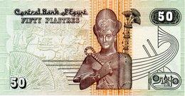EGYPTE Billet 50 Piastres Central Bank D'Epyp - Fifty Plastres - Egipto