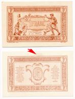 1917 // TRESORERIE AUX ARMEE // Un Franc // EPREUVE - Treasury