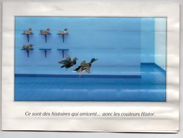 Dépliant Nuancier  HISTOR (peintures) (PPP10664) - Advertising