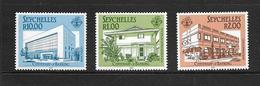 SEYCHELLES 1987 BANQUE   YVERT N°631/33 NEUF MNH** - Seychelles (1976-...)