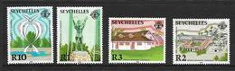SEYCHELLES 1987 INDEPENDANCE   YVERT N°627/30 NEUF MNH** - Seychelles (1976-...)