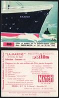 Chromos & Images > Fiches Illustrées > Non Classés Biscottes PRIOR Paris Match La Marine N°88 - Bateaux
