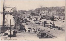 62. BOULOGNE-SUR-MER. Le Quai Chanzy. 8 - Boulogne Sur Mer