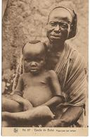 HAUTE - VOLTA / CERCLE DE BOBO / PAPA AVEC SON ENFANT / ANIMATION - Burkina Faso