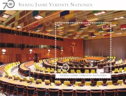 UNO-Wien, 2015 , 898 Block 37, 70 Jahre Vereinte Nationen (UNO). MNH ** - Blocks & Sheetlets