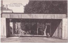38. VOIRON. Pont Du Chemin De Fer Et Cours Sénozan. 9 - Voiron
