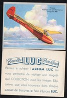 Chromos & Images > Fiches Illustrées > Non Classés Biscottes LUC Planeur Breguet 900 - Schiffe