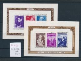 Belgien Block  21+22 **   (zu1155  ) Siehe Scan - Blocs 1924-1960