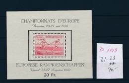 Belgien Block  23  **   (zu1149  ) Siehe Scan - Blocks & Kleinbögen 1924-1960