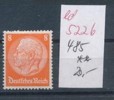 D.-Reich Nr.  485   **   (ed5226  ) Siehe Scan - Germany