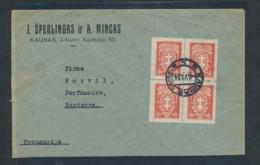 Litauen  Firmen Post ..    (oo8132  ) Siehe Scan - Litauen