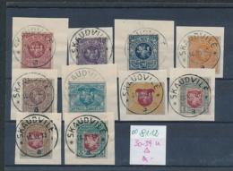 Litauen Nr. 30-39  U ....  O  (oo8112  ) Siehe Scan - Litauen
