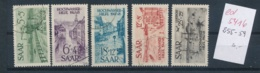 Saar Nr.  255-59    (ed5416  ) Siehe Scan - 1947-56 Allierte Besetzung