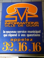 Affiches - SVP Ville De Dijon Information - Affiches