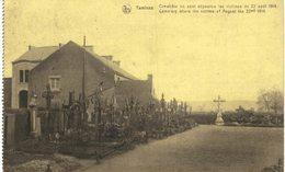 TAMINES   Cimetière Ou Sont Déposées Les Victimes Du 22 Aout 1914. - Sambreville
