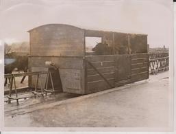 QUAINTEST RAILWAY BALLYBUNION IRELAND DUBLIN  20 * 15  CM Fonds Victor FORBIN (1864-1947) RAILWAY CHEMIN DE FER - Treinen