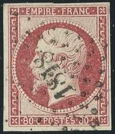 FRANCE CLASSIQUE - NAPOLEON III  N°17A. Cote :  65€. - 1853-1860 Napoleon III